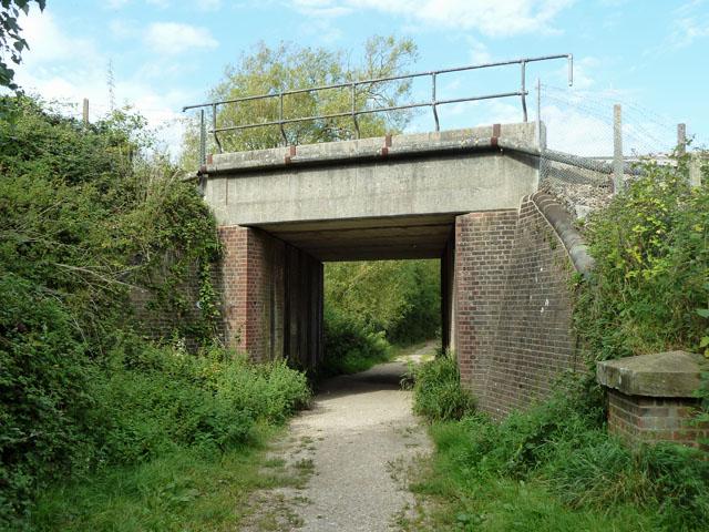 Bridge KJE3 649, Eastbourne line