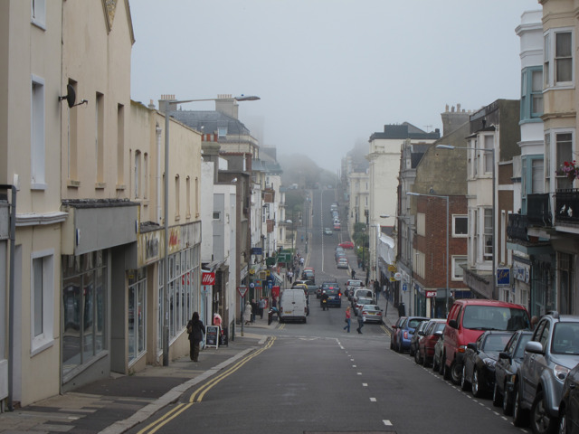 Fog on Norman Road