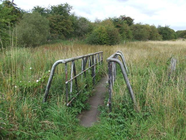 Bridge over a stream near Houghton-le-Spring