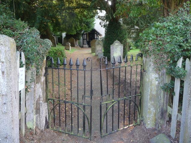 The gates, Lordshill Baptist chapel