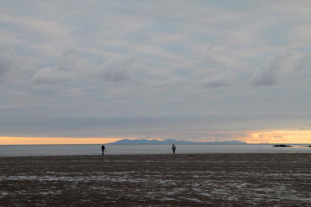 Low tide near Ardwall Isle