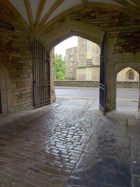 Beneath the Vicars' Hall, Wells