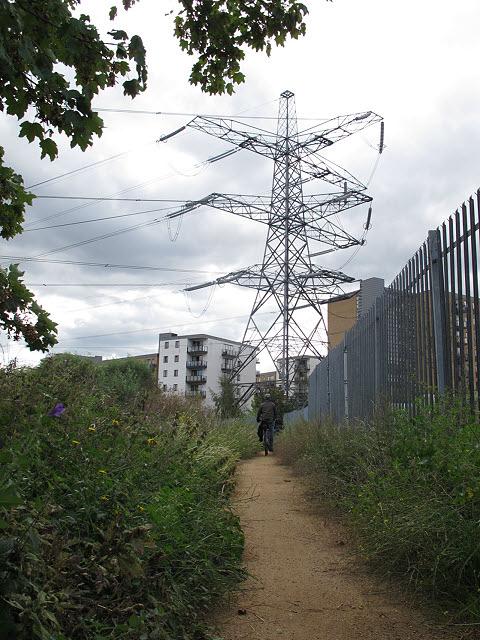 Path to the pylon