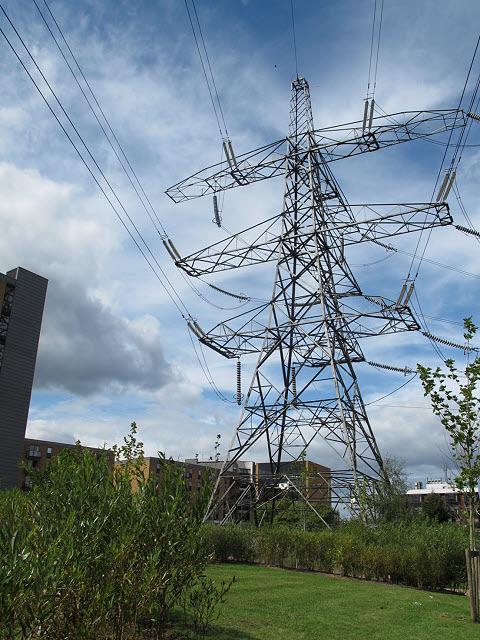 Last pylon in the line