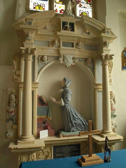 Monument, Axbridge church
