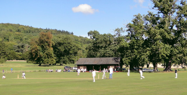 Cricket ground, Garnons