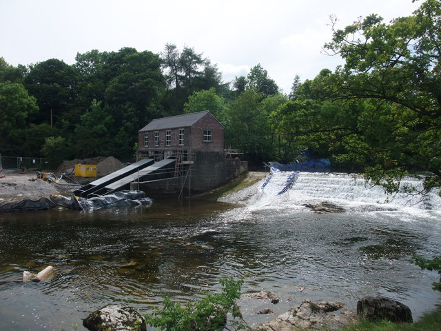 Re-build of hydroelectric station at Linton Falls