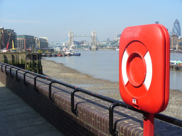 The Thames from Bermondsey