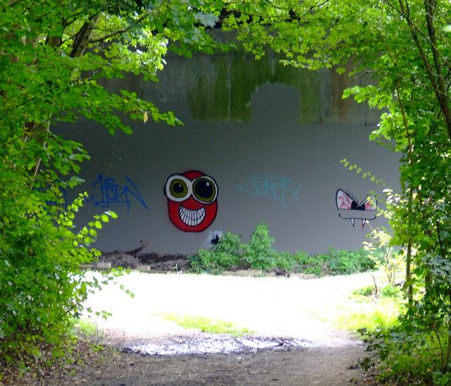 Graffiti on the M4