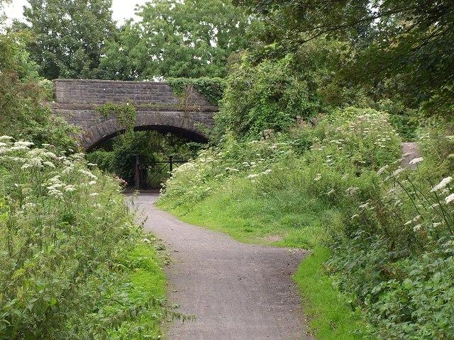 Bridge over Strawberry Line
