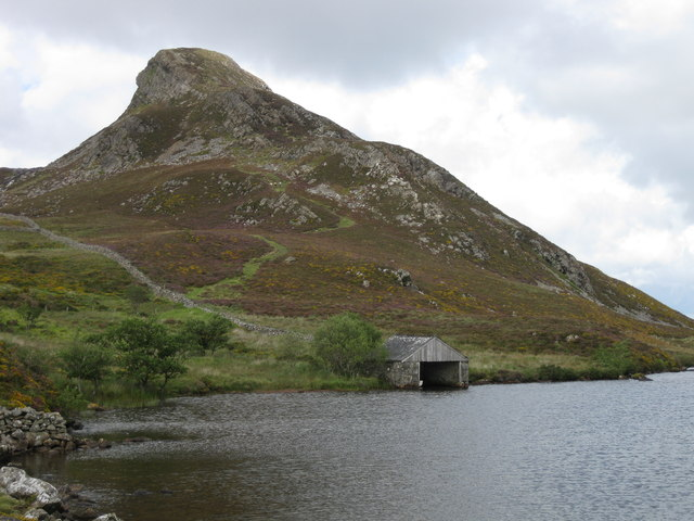Boat House at Llynnau Cregennan
