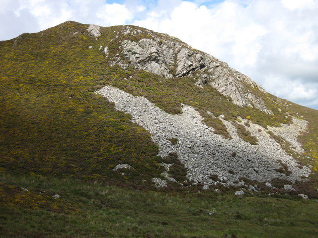 Pen Moelyn crags and screes