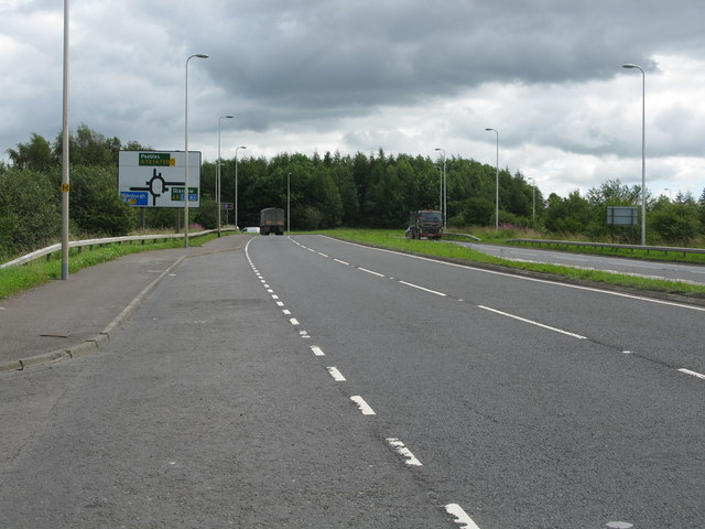 A73, North of Newhouse