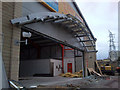 SE0925 : Demolition of former Floors2Go store, Halifax by Phil Champion
