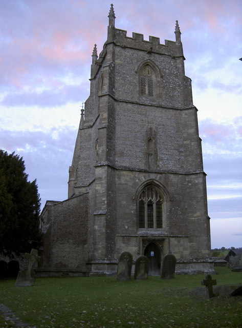 St Andrew's church tower