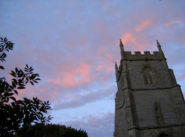 St Andrew's church tower, Wanborough