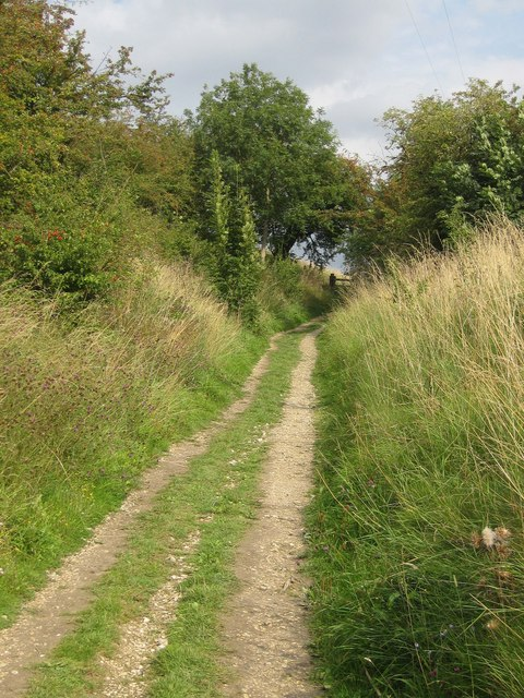 Ascending the Yorkshire Wolds Way