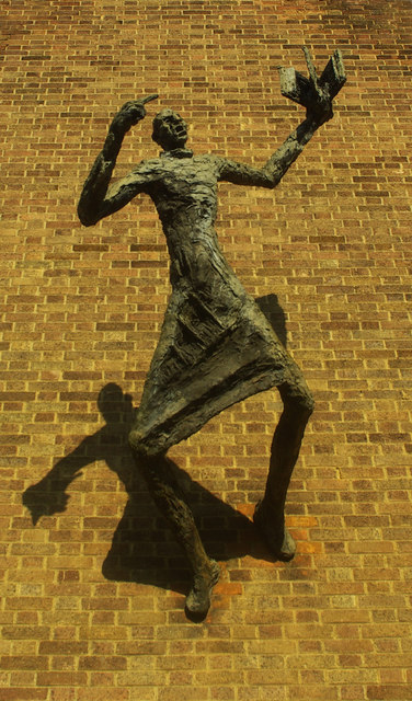 Evangelist with shadow, Forest Gate