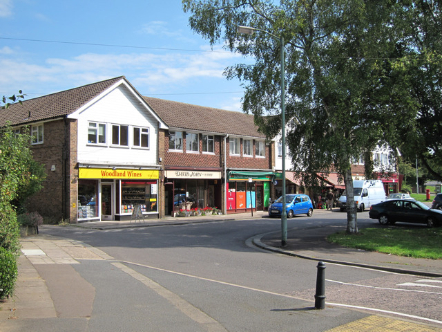 Shops off Woodland Drive