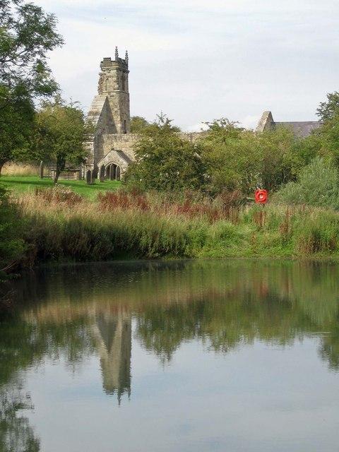 Ruined church of St Martin, Wharram Percy