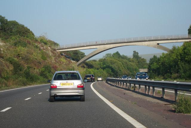 Bridge over A27