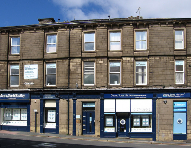 Bingley - estate agents on Park Road