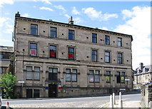 SE1039 : Bingley - solicitors offices on Wellington Street by Dave Bevis