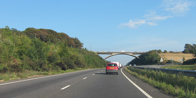 Ditchling Road bridge over A27