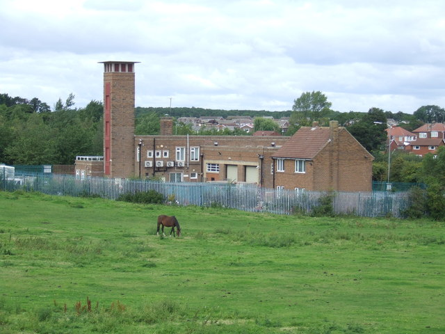 Former fire station at Fencehouses