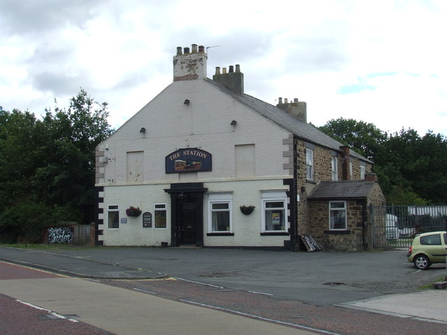 The Station pub, Fencehouses