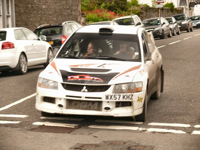 Finishing in Wigtown