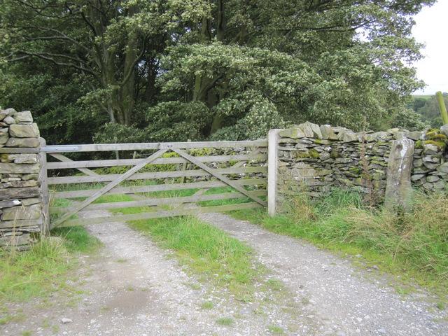 Gateway to Billinger Barn