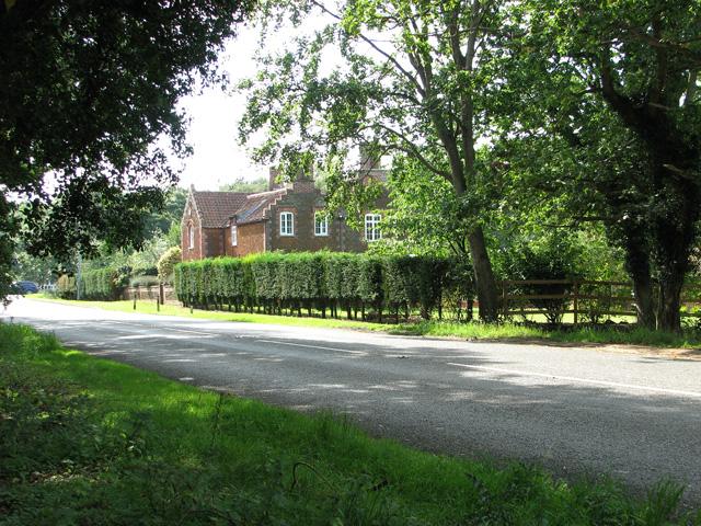 Cottage on the B1440 road , Dersingham