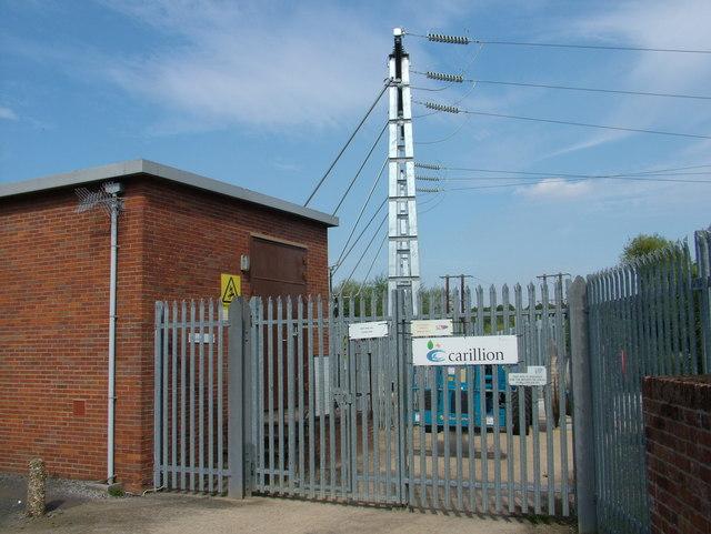 New power feed into substation