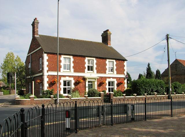 Carstone-built cottage, Dersingham
