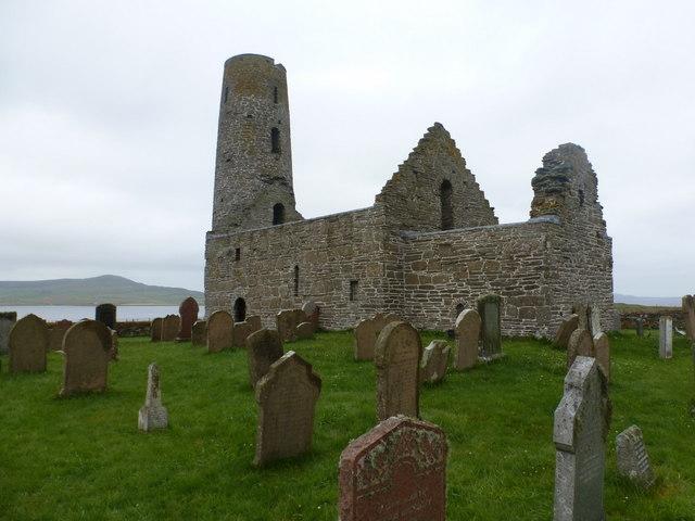 Egilsay: St. Magnus church