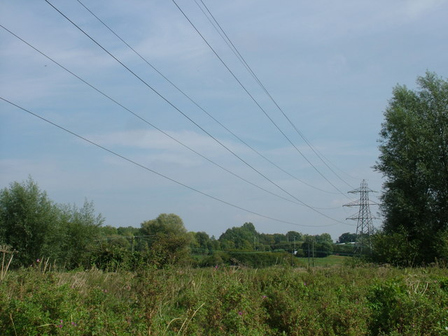 View from No Man's Meadow towards Rougham Hill