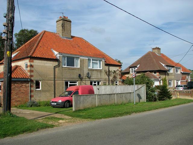 Cottages in Station Road, Dersingham