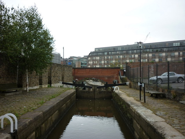 Lock #83 on the Rochdale Canal