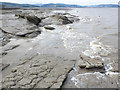 ST0443 : Rocky foreshore, at low tide by Roger Cornfoot