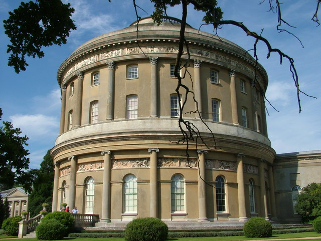 A view from the south east of the Rotunda, Ickworth