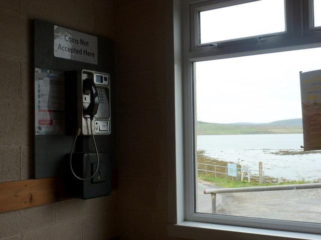 Egilsay: public telephone