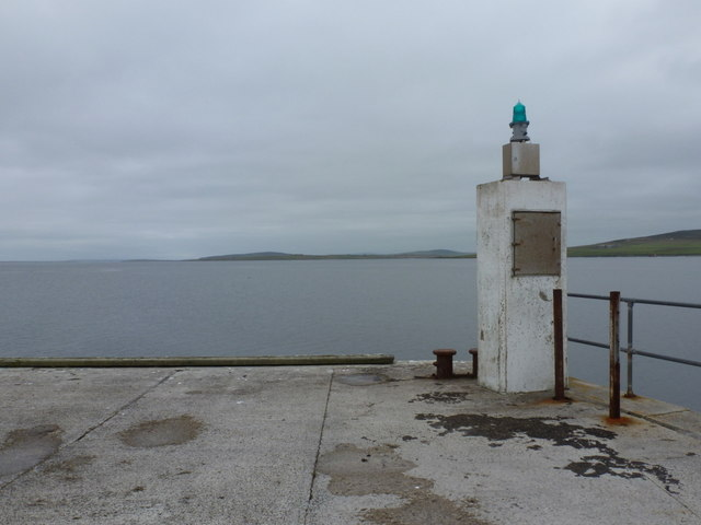 Egilsay: end of the pier