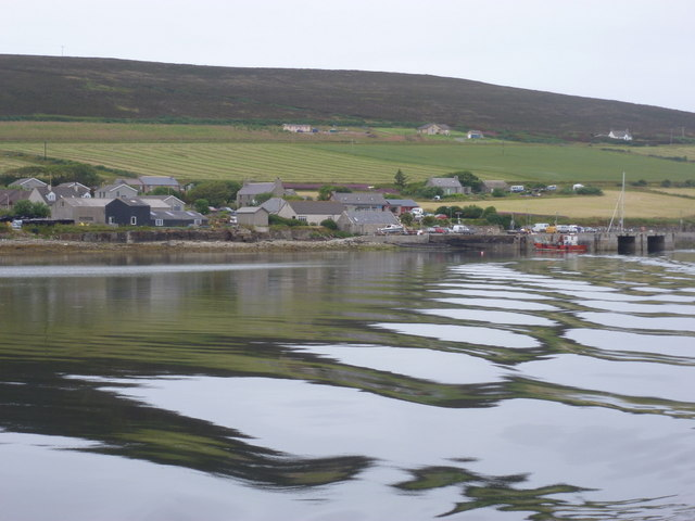 Rousay: leaving for the mainland