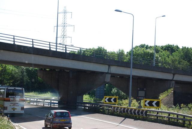 Slip road onto the M11