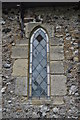 TG3302 : St Peter's church - Norman Window by Ashley Dace
