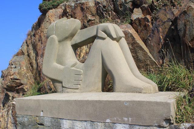 Modern Sculpture at Fishguard