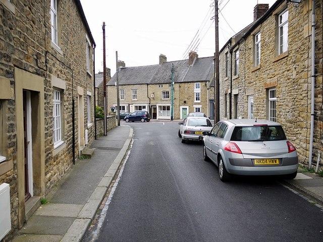 Meadhope Street towards Angate Street