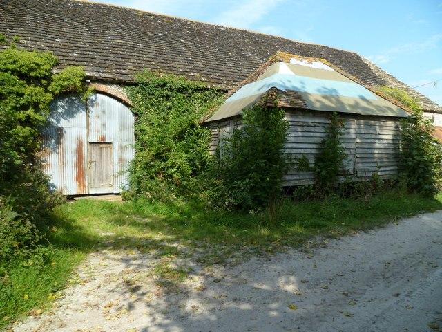 Great barn at Great Barn Farm