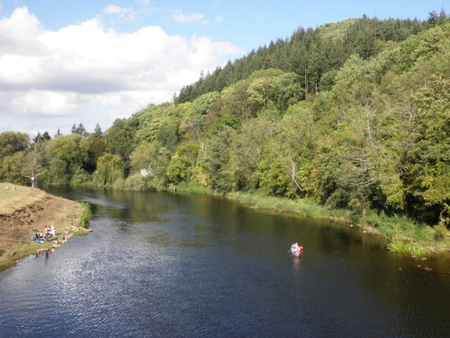 River Wye, from Holme Lacy Bridge